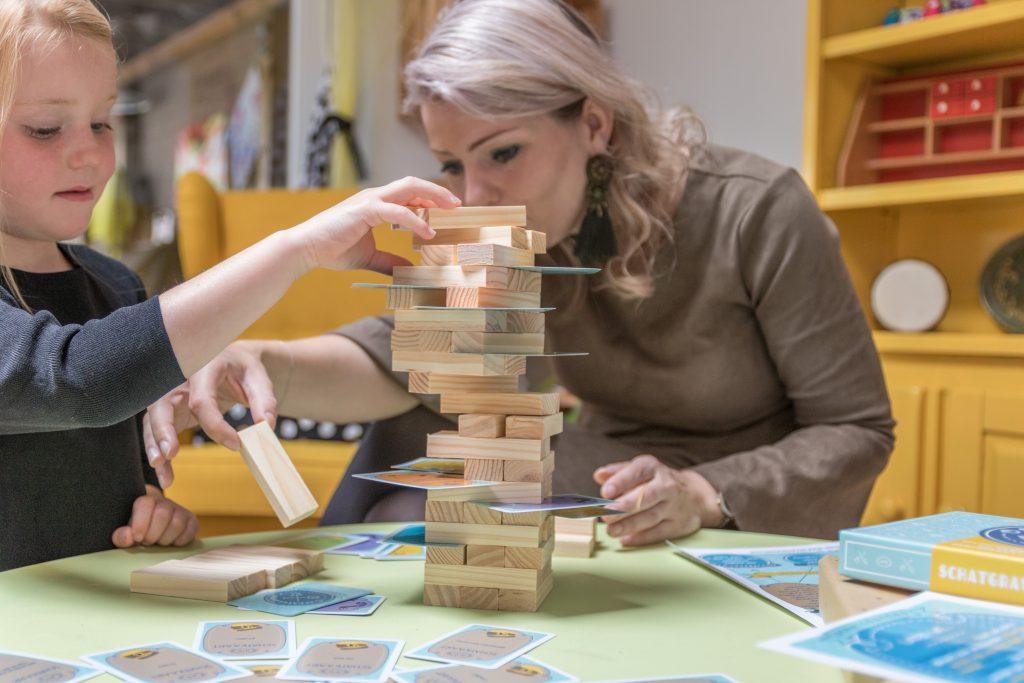 Kindercoaching met het spel 'Schatgravers'